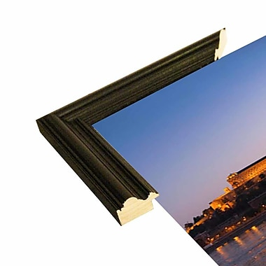 East Urban Home 'Panorama Budapest Chain Bridge' Photographic Print; Rolled Canvas