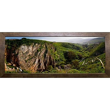 East Urban Home 'Panorama Israel No 2' Photographic Print; Cafe Mocha Framed Paper