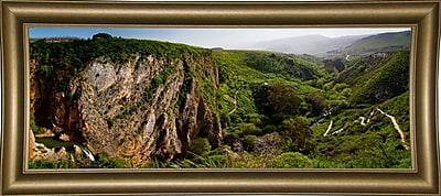 East Urban Home 'Panorama Israel No 2' Photographic Print; Bistro Gold Framed Paper