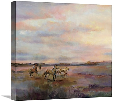 East Urban Home 'Mustangs Under Big Sky' Print on Canvas; 30'' H x 30'' W