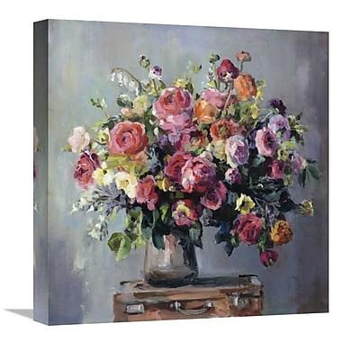 East Urban Home 'Abundant Bouquet' Print on Canvas; 18'' H x 18'' W