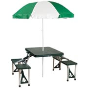 Freeport Park Andrew Picnic Table w/ Umbrella
