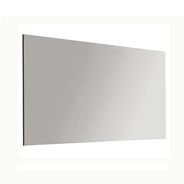 WS Bath Collections Murano Wall Mirror; 27.6'' H x 47.2'' W x 1'' D