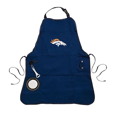 Team Sports America NFL Men Apron; Denver Broncos