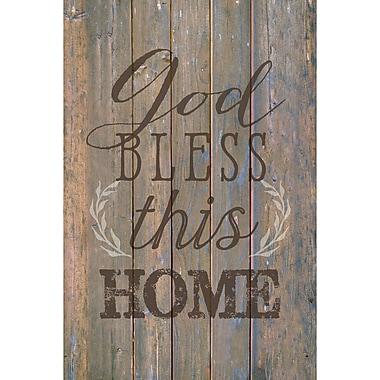 Winston Porter 'God Bless This Home ' Textual Art Plaque