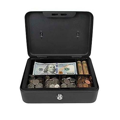 Royal Sovereign Full-Size Cash Box, Black (RSCB-200)