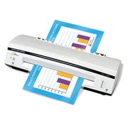 "Royal Sovereign 4 Roller Pouch Laminator APL-330U, 13"", Thermal and Cold"