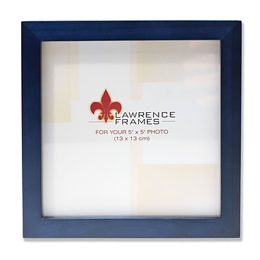 5x5 Blue Wood Picture Frame - Gallery Collection
