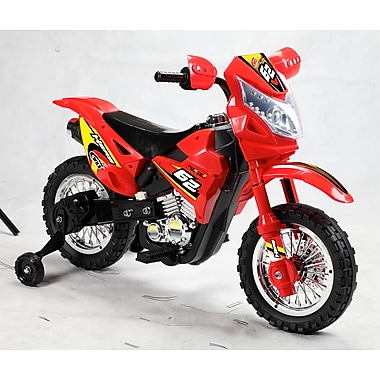 Best Ride On Cars Red Mini Dirt Bike (DBW-HLRed)