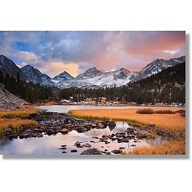 Verde Fastframe – Photographie, Montagnes de la C. -B., 16 x 24 po (8817997)