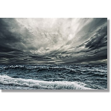 Verde Fastframe Photo Art, Rough Seas, 28