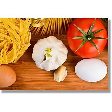 Verde Fastframe Photo Art, Pasta Recipe