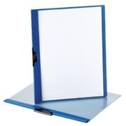 Oxford - Couverture de rapport ReadyClip, format lettre, bleu foncé (52002)