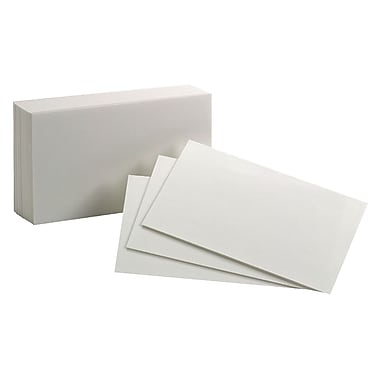 Oxford™ Blank Index Cards, 3