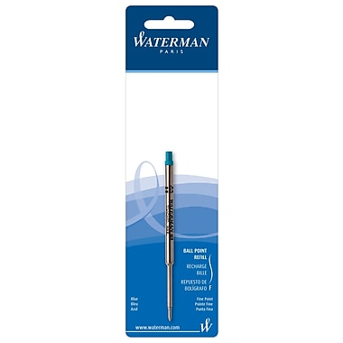 Waterman Refill, Ball Point, Blue Fine (73426W)