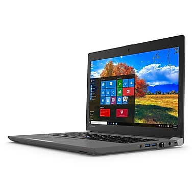 TOSHIBA - Portatif Tecra PT463C-0E6060 14 po, Intel Core i7-6600U 2,6 GHz, SSD 256 Go, DDR3L 8 Go, Windows 10 Pro