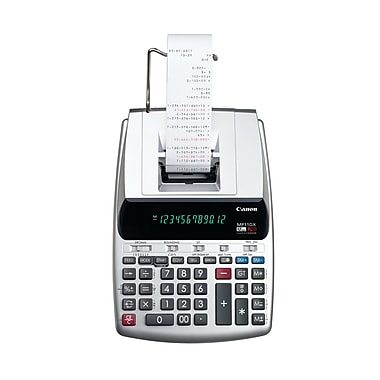 Canon® – Calculatrice imprimante MP11DX-2 à 12 chiffres
