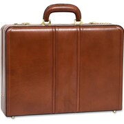 "McKleinUSA Leather 4.5"" Expandable Attache Briefcase (80464)"