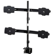 """Amer Mounts Clamp Based Quad Monitor Mount for four 24""""-32"""" LCD/LED Flat Panel Screens (AMR4C32)"""
