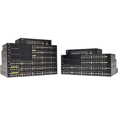 Cisco SG350-10MP 10-Port Gigabit PoE Managed Switch (SG350-10MP-K9-NA)