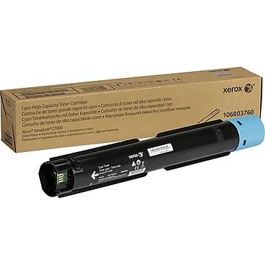 Xerox Versalink C7000 Cyan Toner Cartridge, (106R03760), High Yield