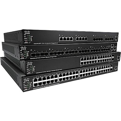 Cisco SG350X-24P Layer 3 Switch (SG350X-24P-K9-NA)