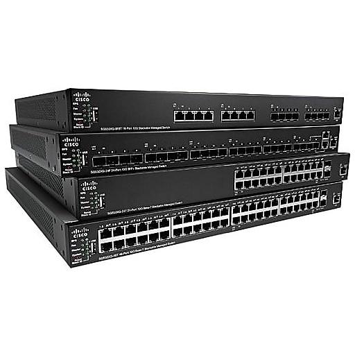 Cisco SG350X-24P Layer 3 Switch (SG350X-24P-K9-NA)