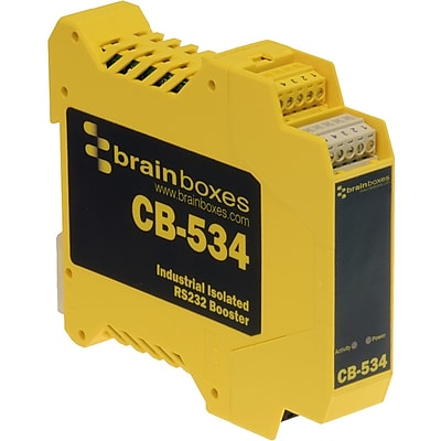 Brainboxes Industrial Isolated RS232 Booster (CB-534)