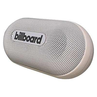 Billboard Mini Bluetooth Speaker, White