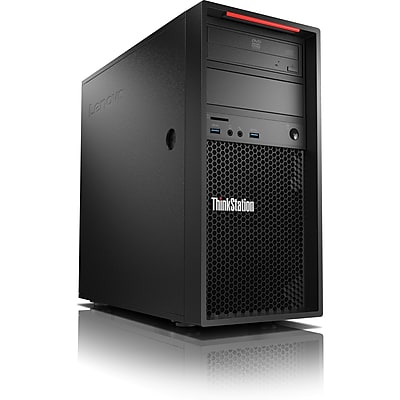 Lenovo ThinkStation P320 30BH002KUS Workstation, 1 x Intel Core i7-7700 Quad-core 3.6GHz, 16 GB DDR4 SDRAM, 256GB SSD