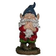 August Grove Nyla Smiling Gnome Statue