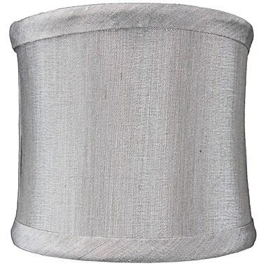 Ebern Designs 4'' Linen Drum Candelabra Shade