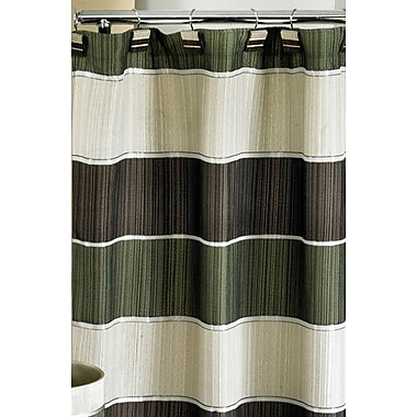 Darby Home Co Jayceson Shower Curtain; Sage