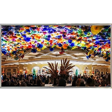 Ebern Designs 'Colors' Photographic Print; Silver Metal Framed Paper