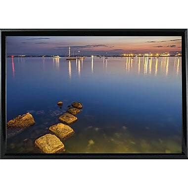 Ebern Designs 'They Call it Magic Hour' Photographic Print; Black Metal Framed Paper