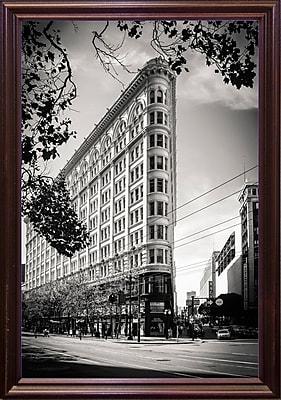 Ebern Designs '33, The Phelan Building' Photographic Print; Cherry Wood Grande Framed Paper