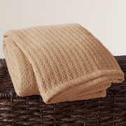 Highland Dunes Alluvial Cotton Throw; Gold