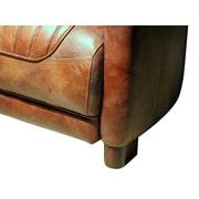 Westland and Birch Chum Top Grain Leather Club Chair