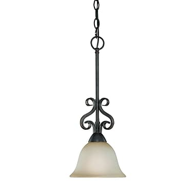 Fleur De Lis Living Wiliams 1-Light Pendant