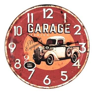 Red Barrel Studio Burndale Garage Premium Modern Equipment Since 1992 Metal 7.8'' Wall Clock