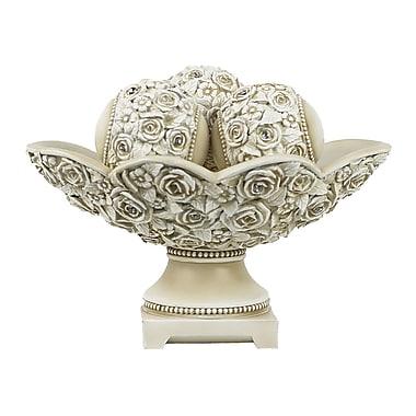 One Allium Way Enora 4 Piece Decorative Bowl Set