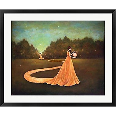 Red Barrel Studio 'Unwinding the Path to Self-Discovery' Framed Graphic Art Print on Wood