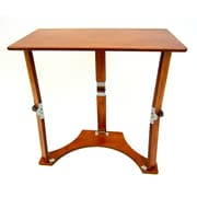 Red Barrel Studio Braswell Folding Laptop Desk/Tray Table; Light Cherry