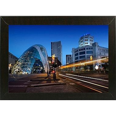 Ebern Designs 'Eindhoven Nighttime Cityscape' Photographic Print