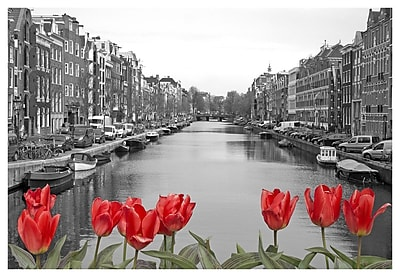 Ebern Designs 'Love in Amsterdam' Photographic Print