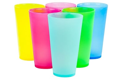 Freeport Park Alonzo 6 Piece Colorful Party Cups WYF078282131364