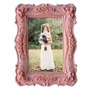 Ophelia & Co. Yulita Resin Picture Frame; Pink