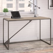 Williston Forge Riverside Industrial Writing Desk; 30'' H x 49.1'' W x 25.1'' D