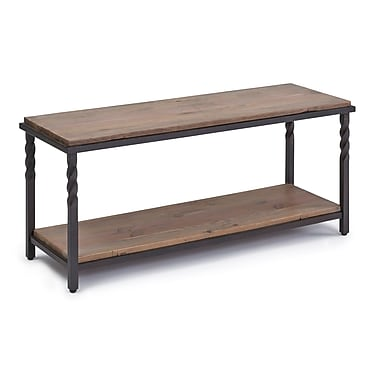 Gracie Oaks Reeves Wood Storage Entryway Bench