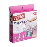 Rebrilliant BPA Free Large Plastic Strong Storage Bags w/ Zipper and Handle (Set of 3)